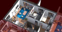 AKCIJA! Trosoban apartman / stan 66m2 sa balkonom, Bjelašnica