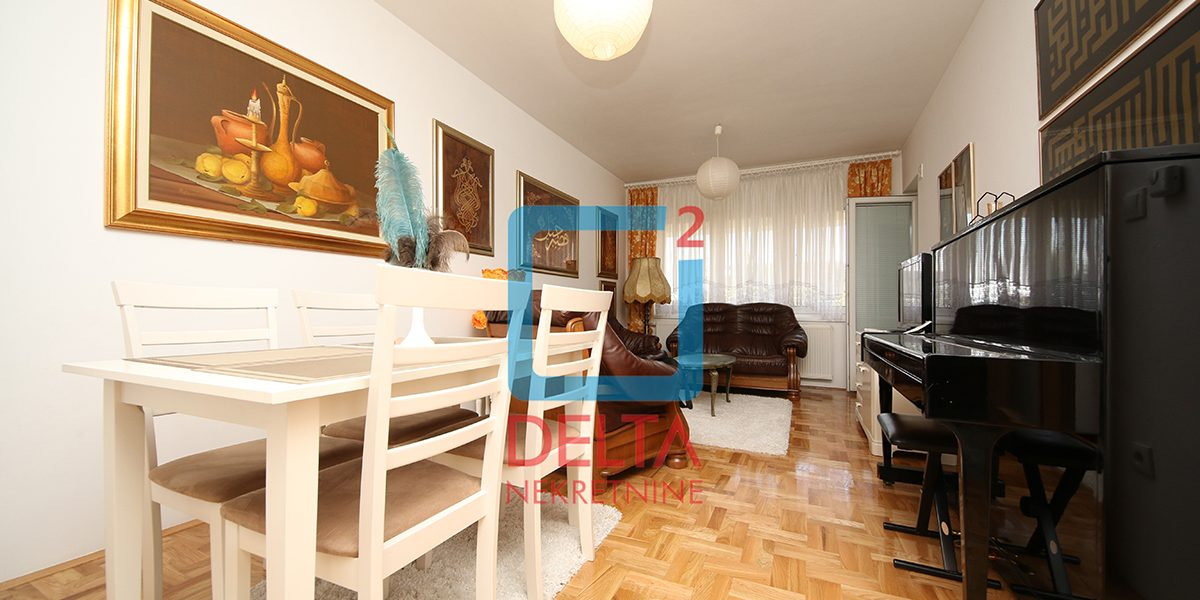 Namješten dvosoban stan na 1. spratu, Stup