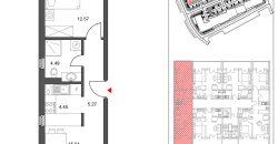 Prostran dvosoban apartman sa dva balkona, Jahorina