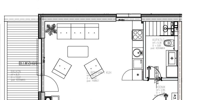 AKCIJA! Jednosoban apartman / stan sa balkonom, Bjelašnica
